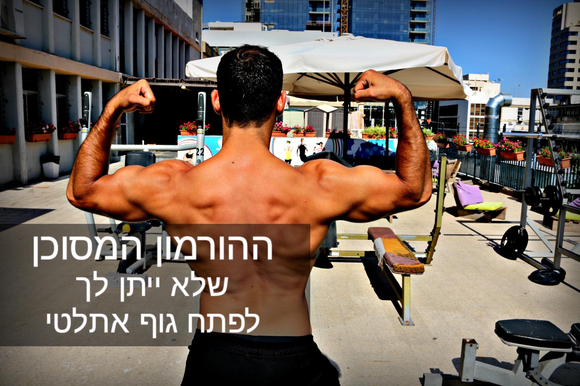 ההורמון המסוכן שלא ייתן לך לפתח גוף אתלטי (3 פתרונות)