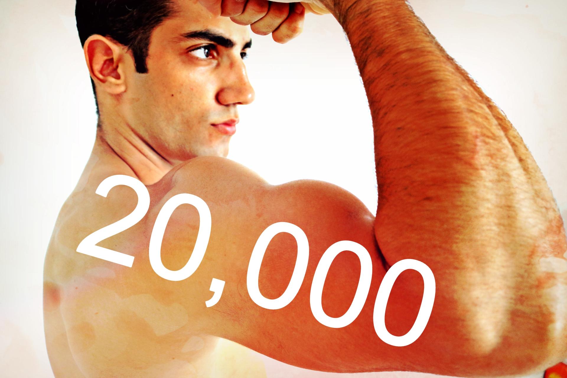20,000 עוקבים ביוטיוב ואתה מקבל ממני מתנה (מיוחד)